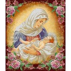 Схема для вышивки бисером Дева Мария