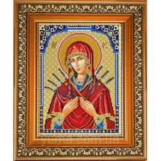 изображение: икона Семистрельная для вышивки бисером