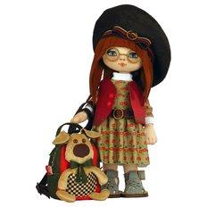 фото: текстильная кукла, сшитая из набора Девочка Элли