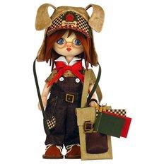 фото: текстильная кукла, сшитая из набора Тотошка