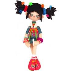 фото: текстильная кукла, сшитая из набора Мармеладка