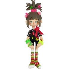 фото: текстильная кукла, сшитая из набора Барбариска