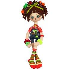 фото: текстильная кукла, сшитая из набора Трюфелька