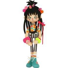 фото: текстильная кукла, сшитая из набора Изюминка