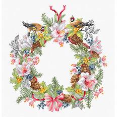 фото: картина, вышитая крестом, Декабрь