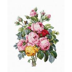 фото: картина для вышивки крестом, Розы