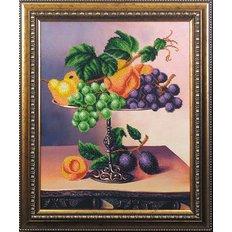 фото: картина для вышивки бисером, фрукты