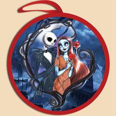 фото: схема для вышивки бисером Игрушка Halloween. Любовь до гроба