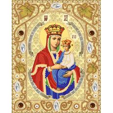 изображение: набор для вышивки бисером Богородица Споручница грешных
