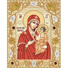 Набор для вышивки бисером Иверская икона Божией Матери