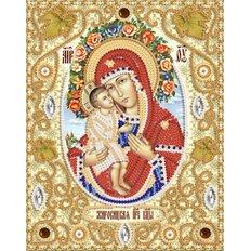 Набор для вышивки бисером Жировицкая икона Божией Матери