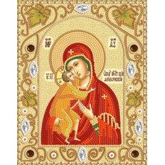 Набор для вышивки бисером Феодоровская икона Божией Матери