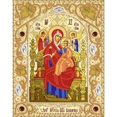 Набор для вышивки бисером Икона Божией Матери &#039,&#039,Всецарица&#039,&#039,