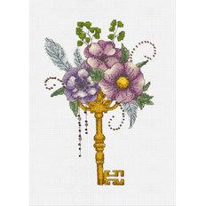 Набор для вышивки крестом Волшебный ключик