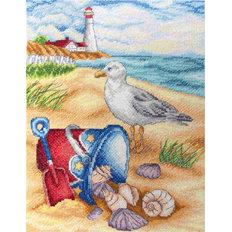 Набор для вышивки крестом На пляже