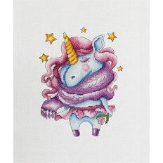 фото: картина для вышивки крестиком Единорог