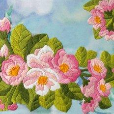 Набор для вышивки нитками Яблони в цвету