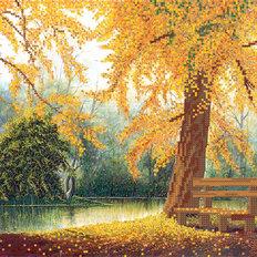 фото: картина для вышивки бисером, Осенняя зарисовка