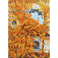 фото: набор для вышивки бисером Осенний храм