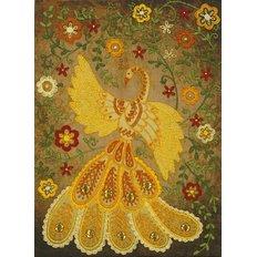 Набор для вышивки нитками Сказочная жар-птица
