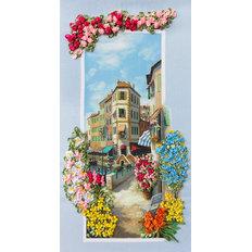 фото: картина для вышивки лентами, Портофино