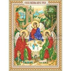 Схема для вышивки бисером Св.Троица
