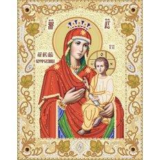 Схема для вышивки бисером Икона Божией Матери &#039,&#039,Скоропослушница&#039,&#039,