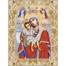 Схема для вышивки бисером Икона Божией Матери &#039,&#039,Достойно есть&#039,&#039, (&#039,&#039,Милующая&#039,&#039,)