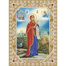 фото: икона для вышивки бисером Боголюбская