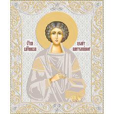 изображение: икона святого Пантелеймона для вышивки бисером