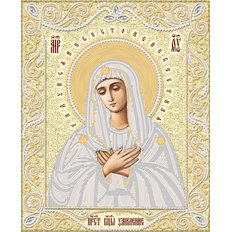 изображение: икона для вышивки бисером иконы Умиление