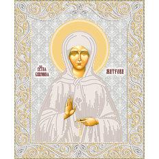 изображение: икона для вышивки бисером иконы Матрона Московская