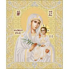 изображение: икона для вышивки бисером Неувядаемый цвет (золото)