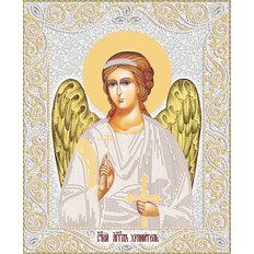 изображение: икона для вышивки бисером Ангел Хранитель (серебро)