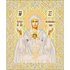 изображение: икона для вышивки бисером Икона Божией Матери Неупиваемая Чаша