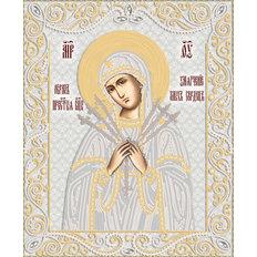 изображение: икона для вышивки бисером Икона Божией Матери Умягчение злых сердец
