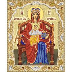 изображение: икона для вышивки бисером Пресвятая Богородица Державная
