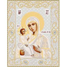 изображение: икона для вышивки бисером Иерусалимская икона Божией Матери