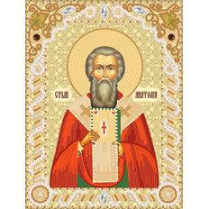 изображение: именная икона для вышивки бисером Св. Анатолий, Патриарх Константинопольский