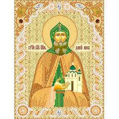 изображение: именная икона для вышивки бисером Св. Блг. Кн. Даниил Московский