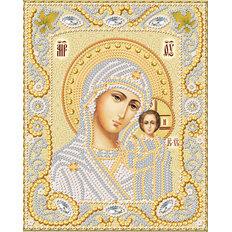 изображение: икона для вышивки бисером Венчальная пара. Богородица Казанская