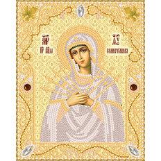 изображение: икона для вышивки бисером Семистрельная Пресвятая Богородица