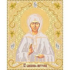 изображение: икона для вышивки бисером Св. Блж. Матрона Московская