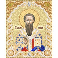 изображение: схема для вышивки бисером именной иконы Св. Василий Великий