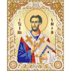 Схема для вышивки бисером Св. апостол Тимофей