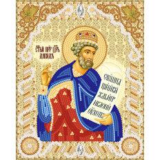 изображение: схема для вышивки бисером именной иконы Св. Давид