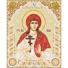 изображение: именная икона для вышивки бисером Св. Мч. Алла