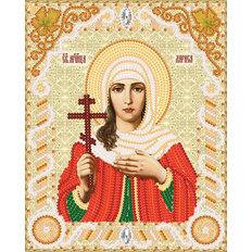 изображение: именная икона для вышивки бисером Св. Мч. Лариса