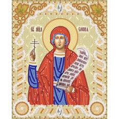 изображение: именная икона для вышивки бисером Св. Мч. София