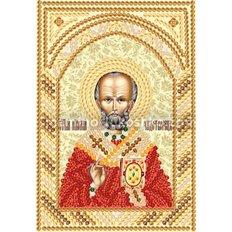 Схема для вышивки бисером Св.Николай Чудотворец